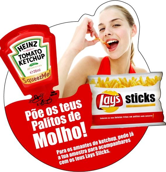 Portfólio - Heinz/ Lays Sticks by jorge , via Behance