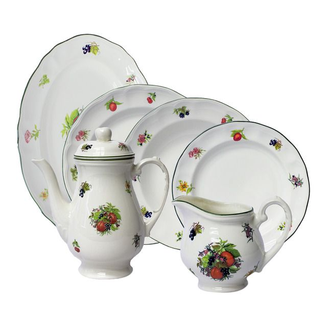 M s de 25 ideas incre bles sobre vajilla san claudio en for Vajillas porcelana clasicas