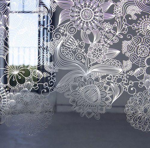 Кружевные перегородки MePas от Caino Design, фото