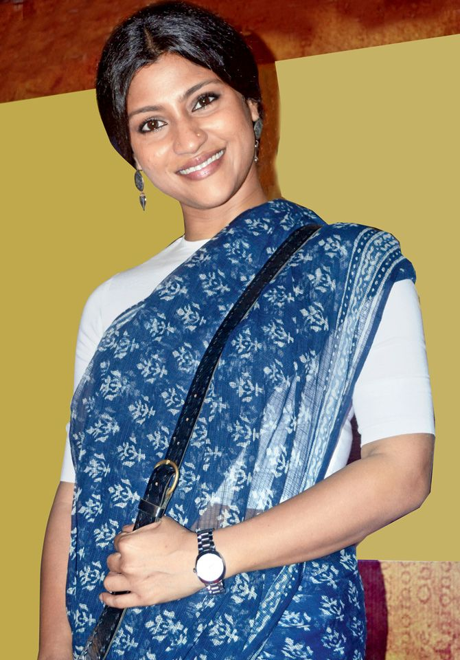 Konkana Sen Sharma at 'Gour Hari Dastaan' special screening. #Bollywood #Fashion #Style #Beauty