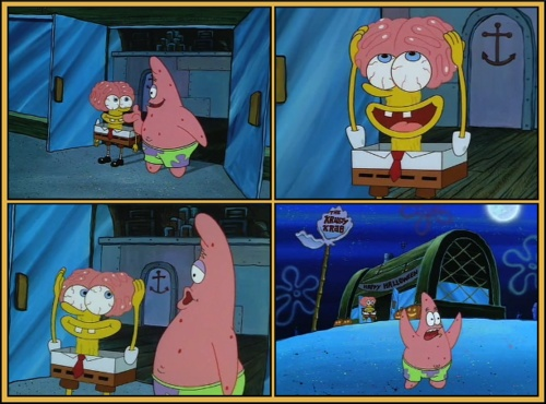 spongebob brain halloween wwwpixsharkcom images