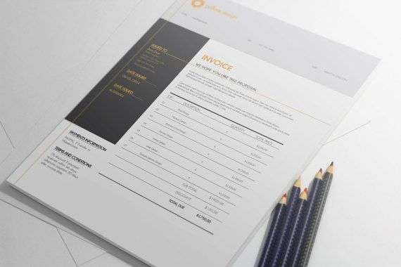 INVOICE TEMPLATE Thinking of small and larger business owners, entrepreneurs, freelancers, startup businesses, we designed this printable invoice template