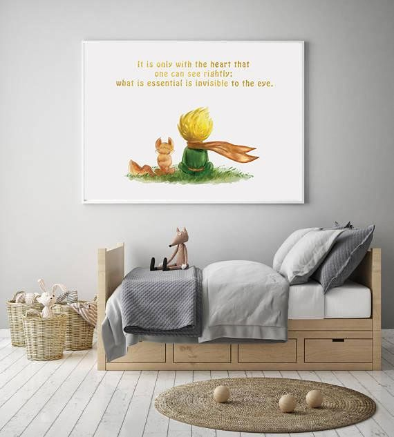 The Little Prince Nursery Wall Art Kids Wall Art Decoracao Quarto Bebe Quartos