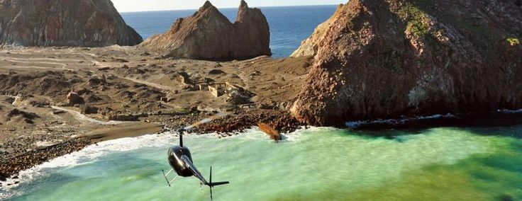 Take to the sky and witness the spectacular sights of the Bay of Plenty in a scenic helicopter tour.