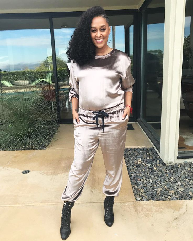 Pregnant Tia Mowry Shows Off Her Baby Bump