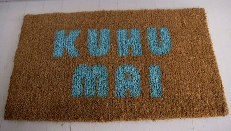 How to create a beautiful welcoming doormat #WhanauLiving #AdrenalinGroup
