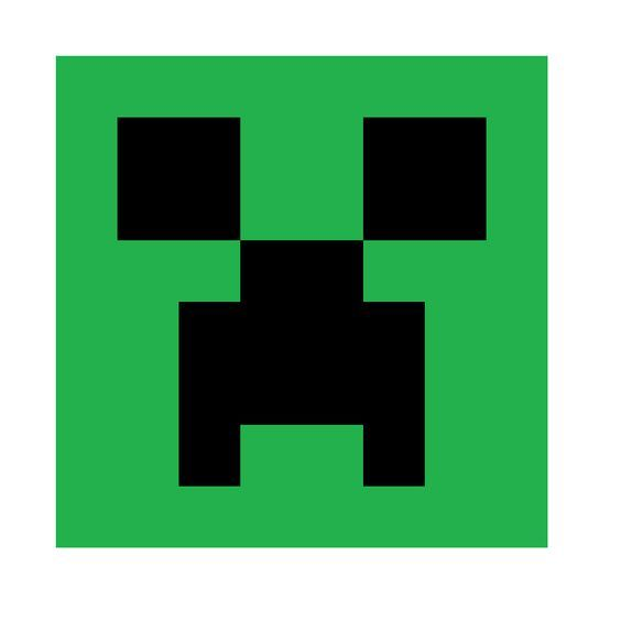 Minecraft Creeper Printable Minecraft Creeper Face: