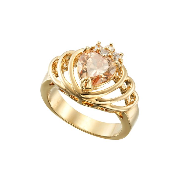 Jewel Of My Heart Gold - RY0068 - $189 AUD - Size 7 only