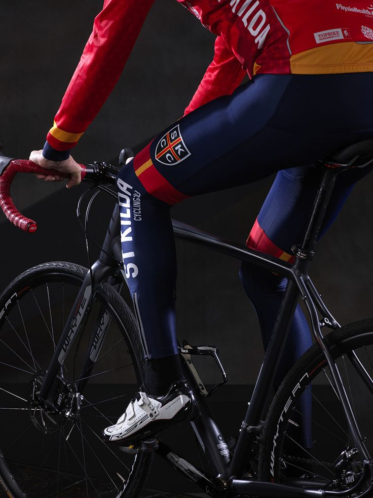 Kit design for SKCC with navy pre-dyed base colour - here with the LS jersey and matching leg warmers