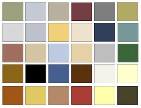 Color Palette For Neoclassical Period Home Decor