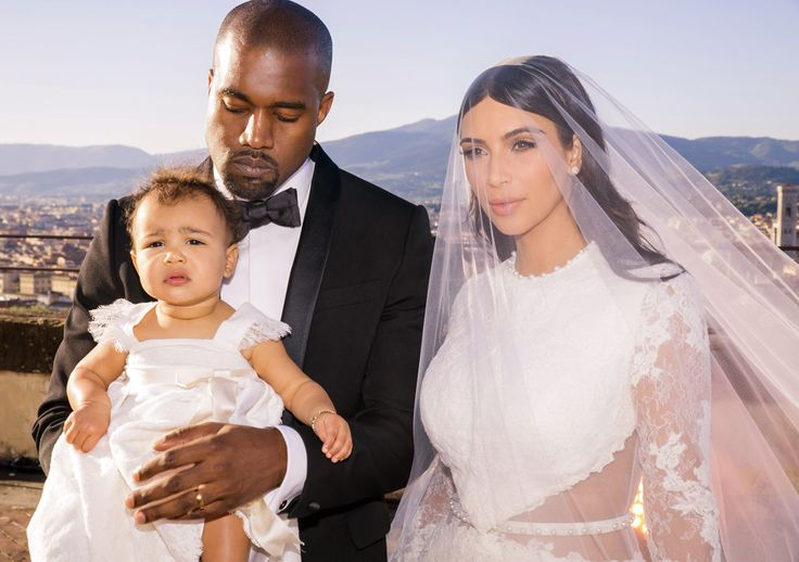 Proud Married Parents from Kim Kardashian & Kanye West's Wedding Album | E! Online