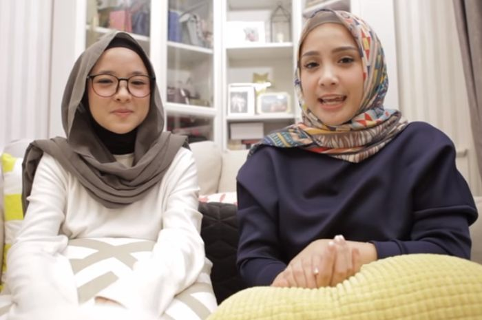 Tutorial Hijab Pashmina Sabyan Simple Model Pakaian Gaya Hijab Inspirasi Gaya
