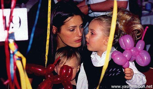 Yasmin & Saffron Le Bon 1995 aids benefit