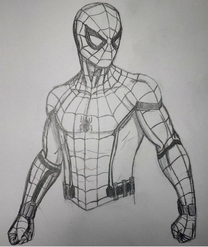 Dibujos Superheroes Dibujos Spiderman Dibujo Dibujos Comics