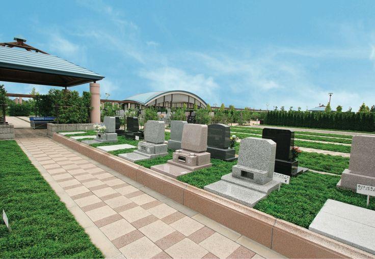 テラス墓地(洋型墓石)