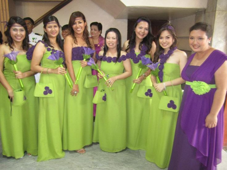 Wedding Entourage Gowns