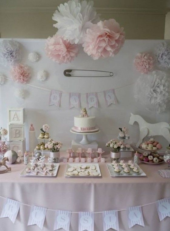 Decorazioni per un baby shower party - Fotogallery Donnaclick