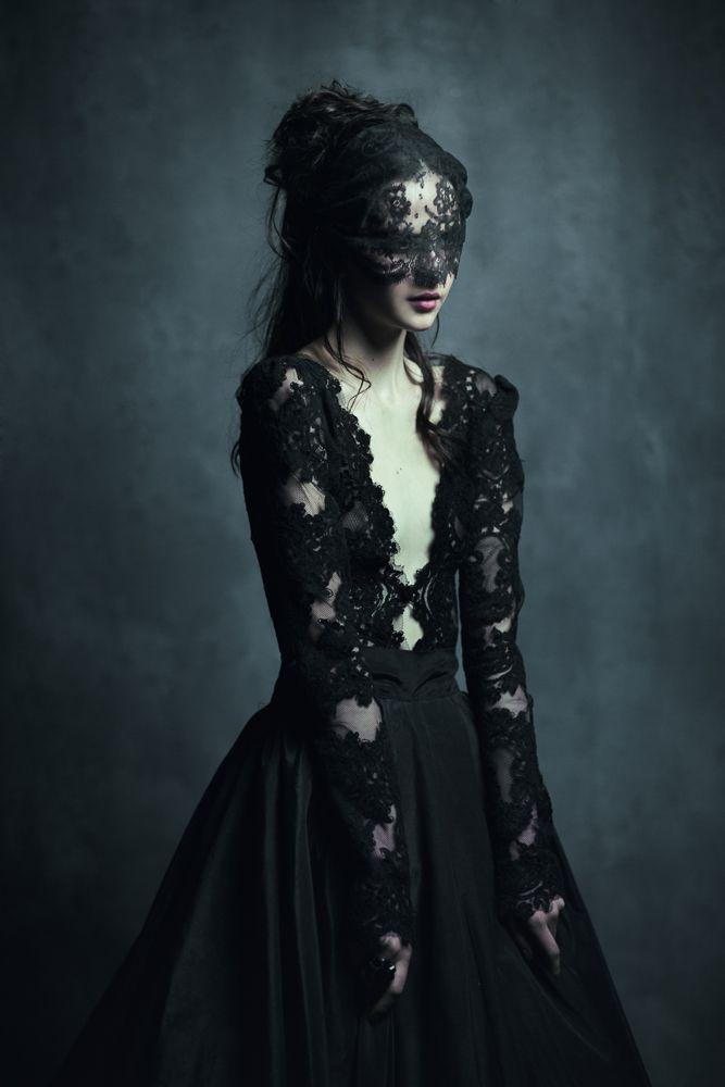 Modern Fairy tale - dark nights / karen cox.  BEAUTIFUL SAVAGE 42 by corvus-crux.deviantart.com