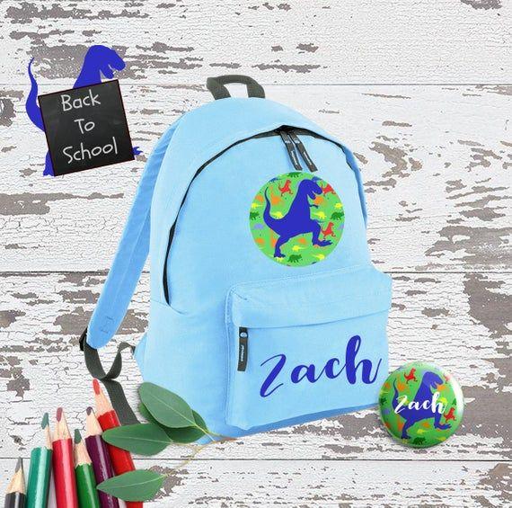 PERSONALISED KIDS BAGPACK ADD YOUR CUSTOM NAME SCHOOL NURSERY RUCKSACK KIDS BAG