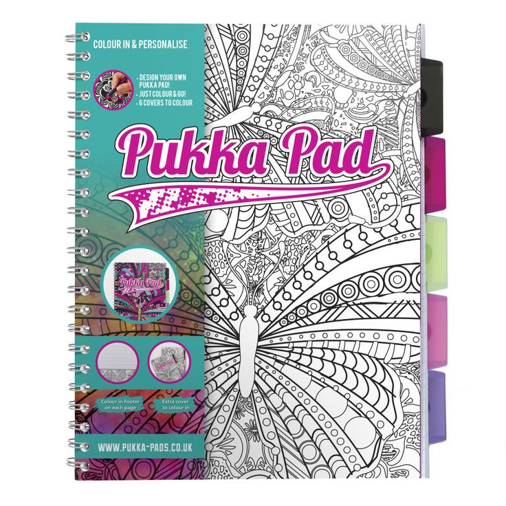Colour & Personalise - Pukka Pads