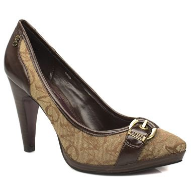 Morgan Chestnut Mono Beautiful styled high heeled courts from Morgan De Toi. The upper on this fantastic style is made up of man made and textile sections with a Morgan brand non-adjustable buckle over the toe. Heel heigh http://www.comparestoreprices.co.uk/womens-shoes/morgan-chestnut-mono.asp