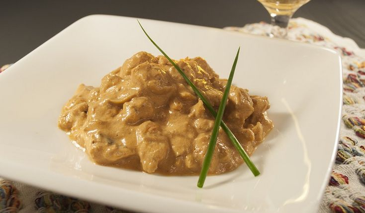 Beef Stroganoff is a Russian dish of sautéed pieces of beef served in a sauce with smetana (sour cream). From its origins in mid-19th-century Russia, it has become popular around the world, with considerable variation from the original recipe.   #beef #BeefStroganoff #gordonramsey #jamieoliver #recipe #recipes #russian #sauteedbeef #sourcream