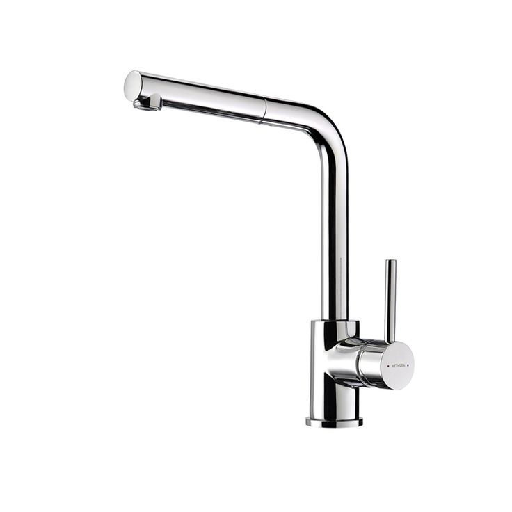 Methven WELS 4 Star 7.5L/min Chrome Metro Pull Out Sink Mixer