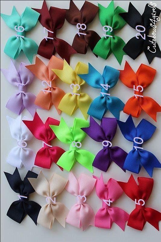 PICK 12 NON SLIP hair clip - baby hair clip - infant clip bows - small hair bows - bows for infant - Infant hair bows - Newborn bows BS1 by cutebows4girls on Etsy https://www.etsy.com/listing/96904605/pick-12-non-slip-hair-clip-baby-hair