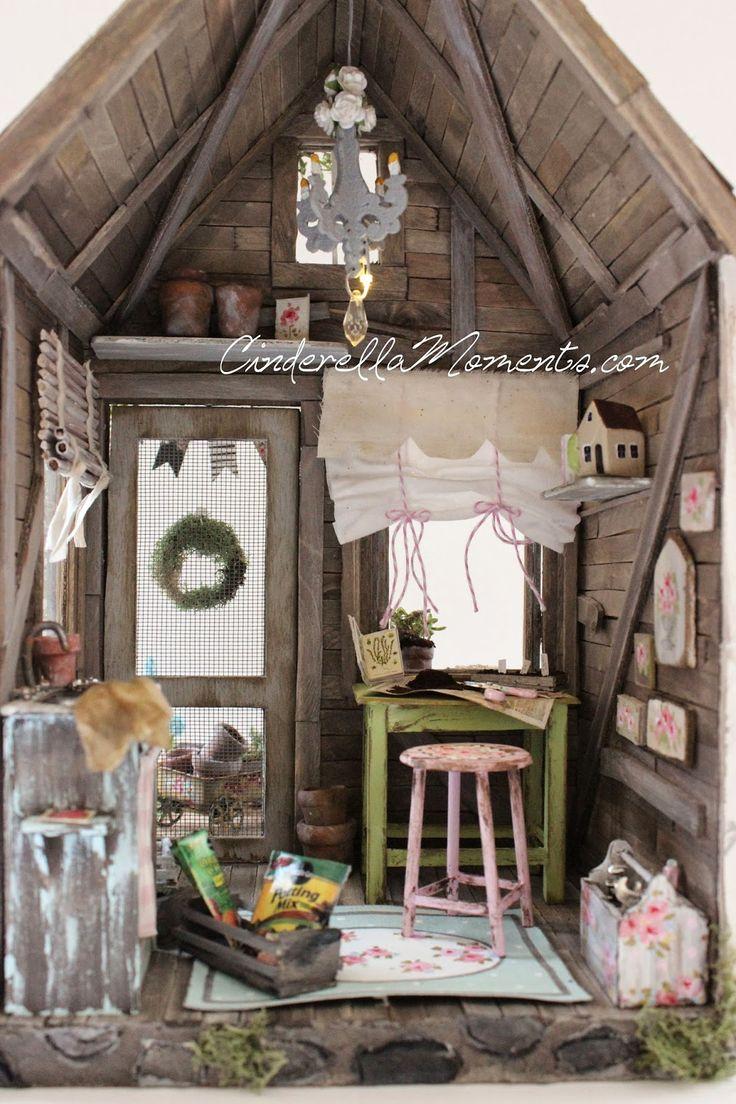 96 Best Dollhouse Miniature Room Boxes Images On Pinterest