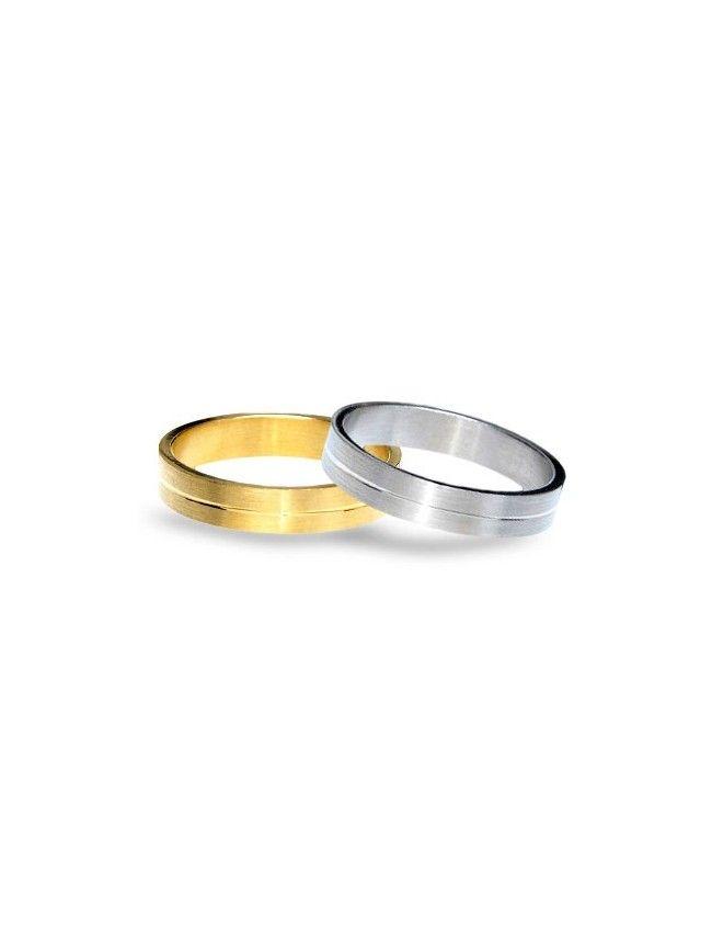 #aliança boda or bicolor #alianza boda oro bicolor Ref: 1005-R