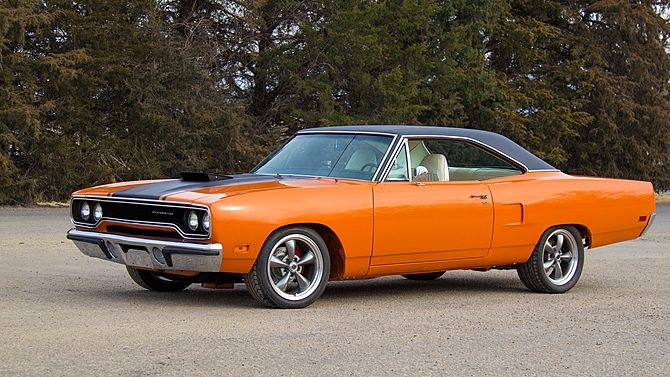 1970 Plymouth Road Runner 440/430 HP, 4-Speed