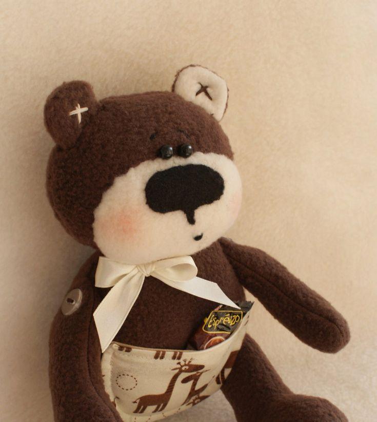 26 besten teddy Bilder auf Pinterest   Schnittmuster, Stofftiere und ...