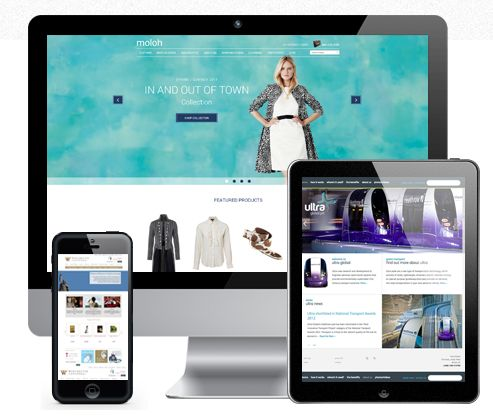 Web design that works on all mobile devices.