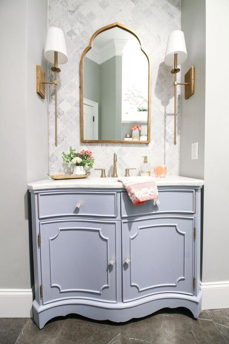 First Floor Bathroom Reveal – boho bathroom