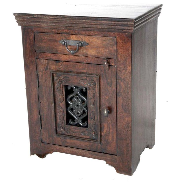 MOTI Furniture 1 Drawer Nightstand & Reviews   Wayfair