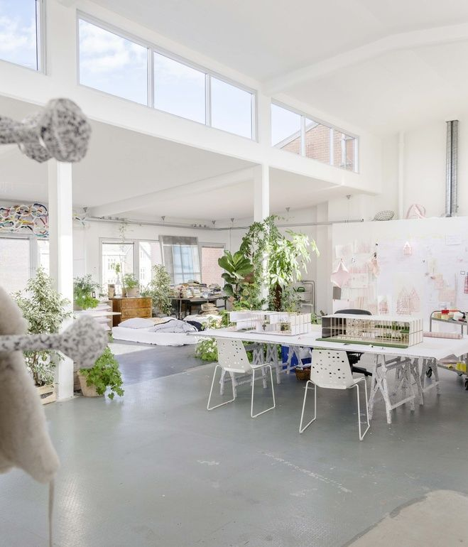 """""""By emphasizing the low-tech element, I am inviting house users and house guests to play,"""" says Campbell, """"Manual cooking, saws and wrenc..."""