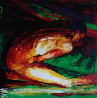 Ania Danelska: Akryl, 80x80, dostępny