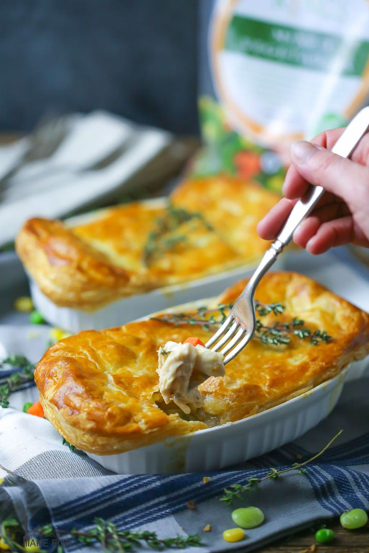 Easy Individual Chicken Pot Pie | What Should I Make For