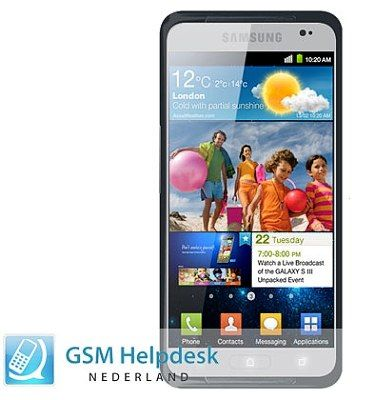 Leaked photo for Galaxy S III