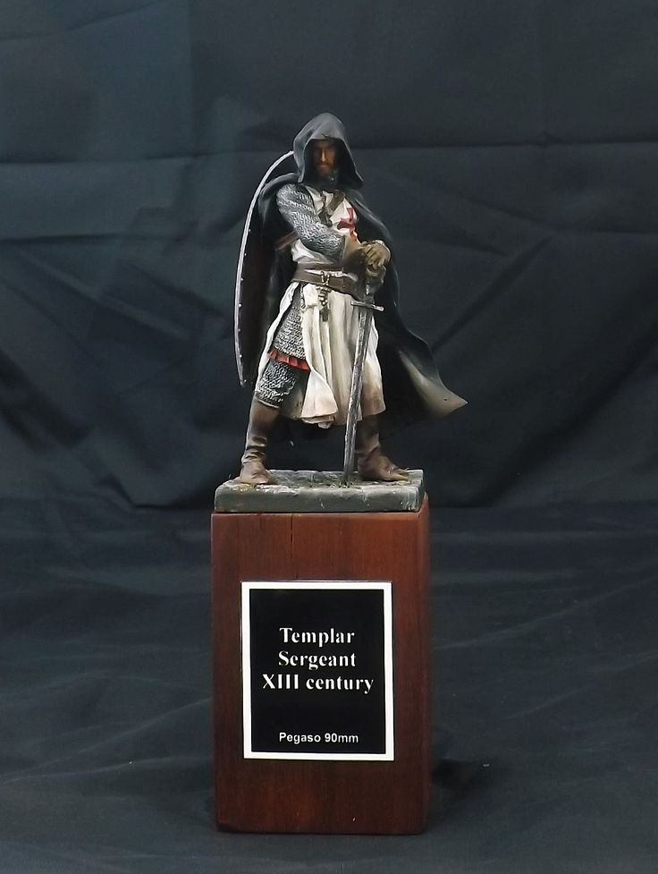 Templar Sergeant, XIII century - Pegaso Models