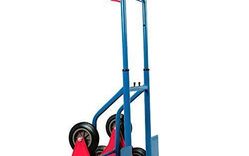 Diable repliable extensible 200kg 3 roues: Prend peu de place pour le rangement Roues en caoutchouc pleine Peut supporter jusqu'à 200…