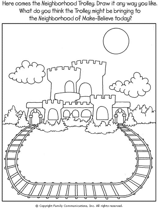 mr rogers coloring pages - photo#11