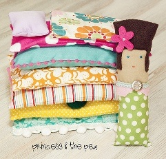 Princess and the Pea...AGAIN  who knew there were so many versions of this and they are all so cute!