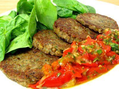 Hamburguesas de lentejas y nueces | #Recetas de cocina | #Veganas - Vegetarianas ecoagricultor.com