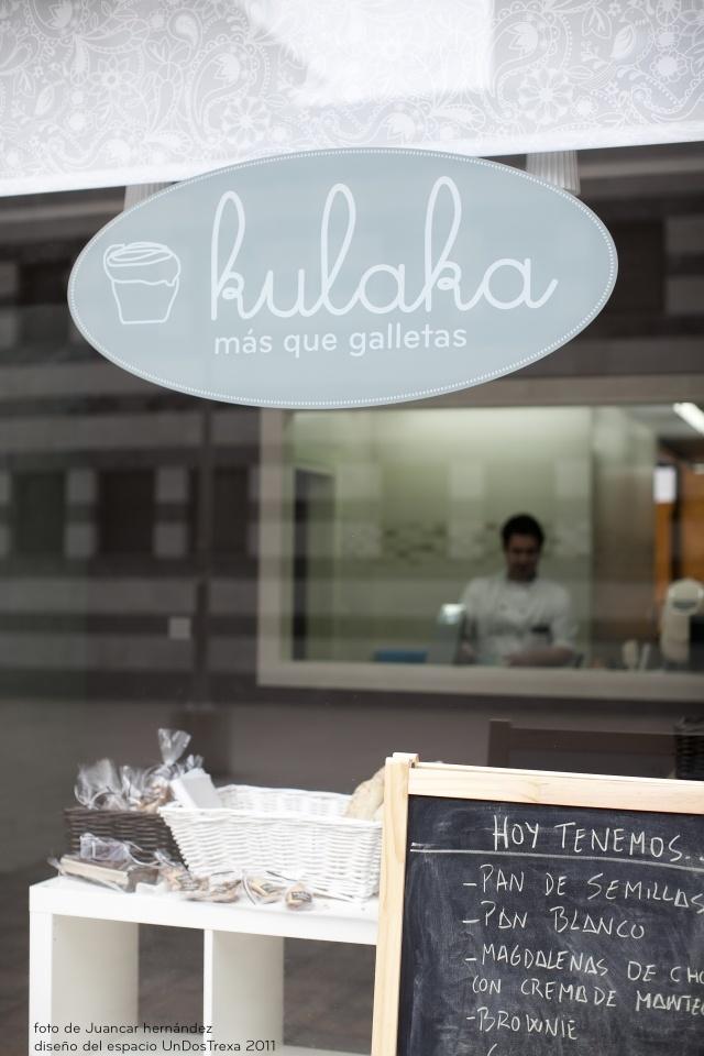 Kulaka, cupcakes and cookies in Bilbao.