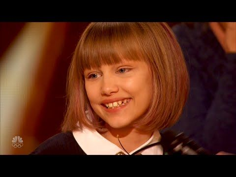 Grace VanderWaal - I Don't Know My Name - America's Got Talent - June 7, 2016 - YouTube ❤️❤️❤️❤️❤️❤️❤️