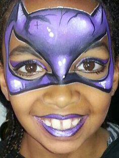 Cat woman face painting!