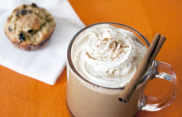 85-calorie Pumpkin Spice Latte Recipe. Your taste buds won't believe healthy could taste this good. #healthy #recipe