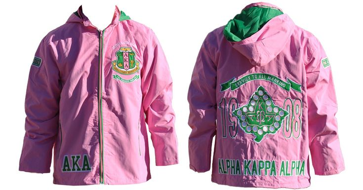 Alpha Kappa Alpha Windbreaker