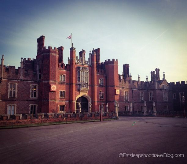 Hampton Court Palace, East Molesey, England — by Eat Sleep Shoot Travel. The Royal Palace of King Henry VIII